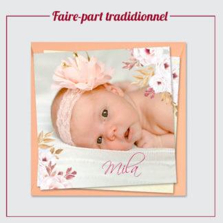 Faire-Part Traditionnel